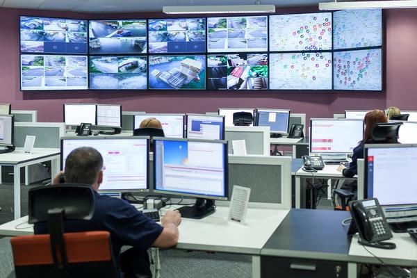 Jablotron bezpečnostní centrum