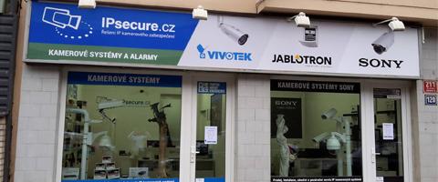 IPsecure.cz - showroom, Nuselská 211/120, Praha 4