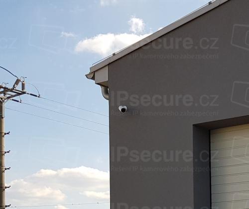 Instalace IP kamery VIVOTEK IB8369A na průmyslový objekt