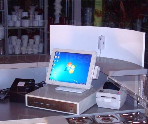 Instalace IP kamery CC8160 na prodejní stánek