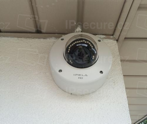 Instalace IP kamery SONY SNC-EM632RC na rodinný dům