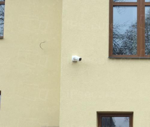 Instalace IP kamery VIVOTEK IB836BA-HT na rodinný dům