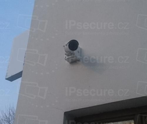 Instalace IP kamery VIVOTEK IB9371-HT na vjezd do areálu