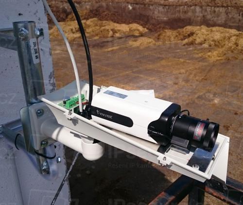 Instalace IP kamery VIVOTEK IP816A-HP do krytu