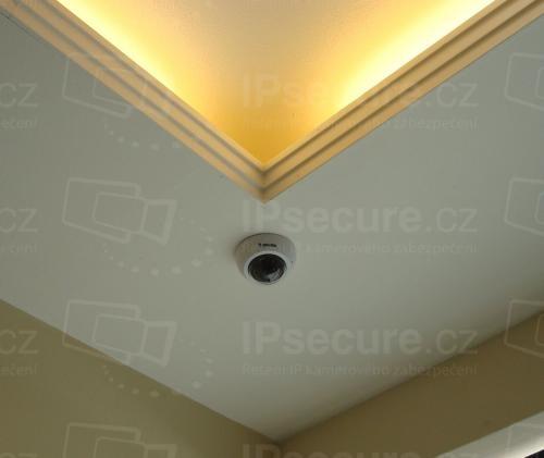 Instalace IP kamery FD8166A do obchodu