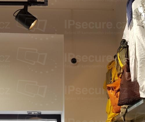 Instalace kamery VIVOTEK FD8169A do prodejny