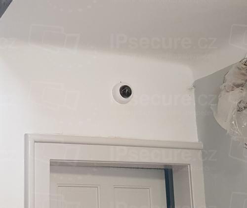 Instalace kamery VIVOTEK FD8169A do rodinného domu