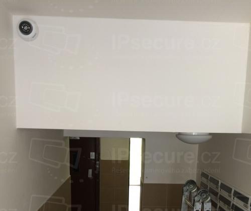 Instalace kamery VIVOTEK FD8169A do bytového domu