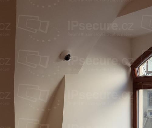 Instalace kamery VIVOTEK FD8169A v kadeřnictví