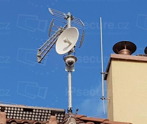 Instalace IP kamery VIVOTEK FD8369A-V na stožár