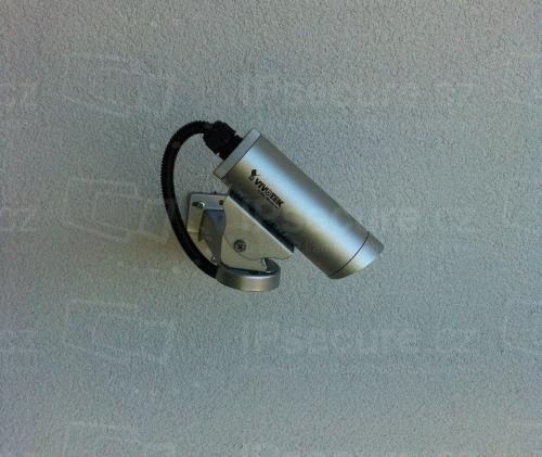 Instalace IP kamery VIVOTEK IP8332 na rodinný dům