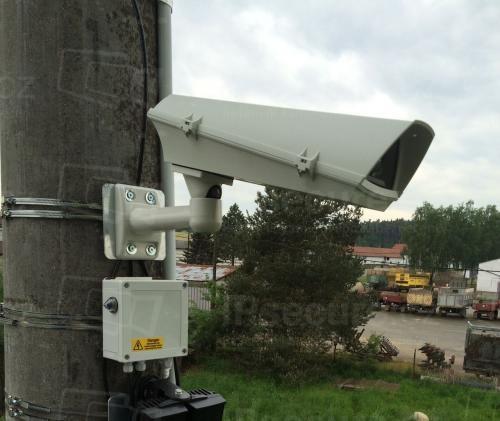 Instalace IP kamery SONY SNC-EB630 pro hlídání komunikace