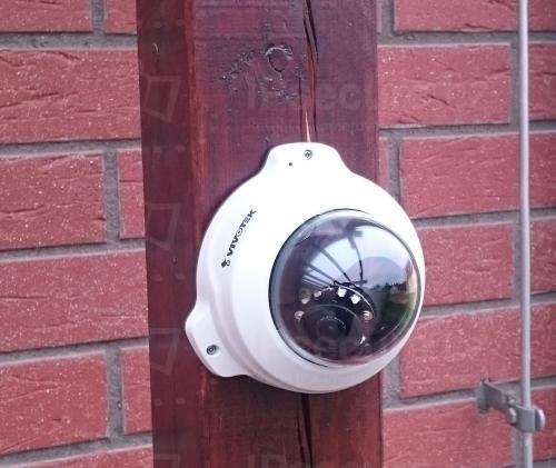 Instalace IP kamery VIVOTEK FD8154V na pergolu