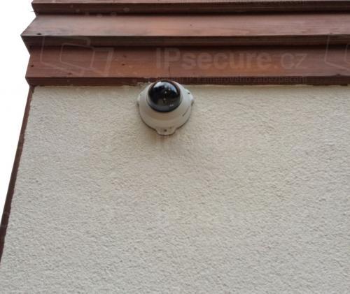 Instalace IP kamery VIVOTEK FD8154V na chalupu