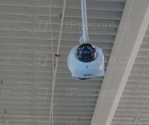 Instalace IP kamery VIVOTEK FD8163 do průmyslové haly