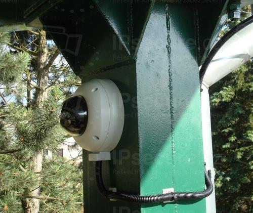 Instalace IP kamery VIVOTEK FD8335H na čerpací stanici