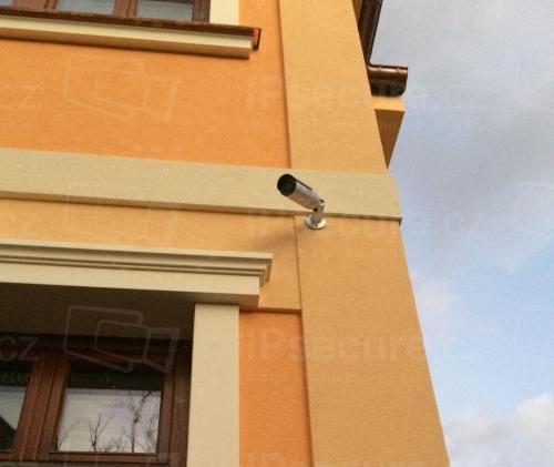 Instalace IP kamery VIVOTEK IB8369 na rodinný dům