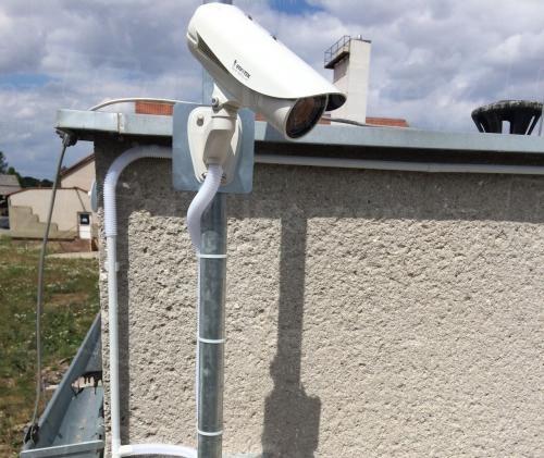 Instalace IP kamery VIVOTEK IP8335H na vjezd do areálu