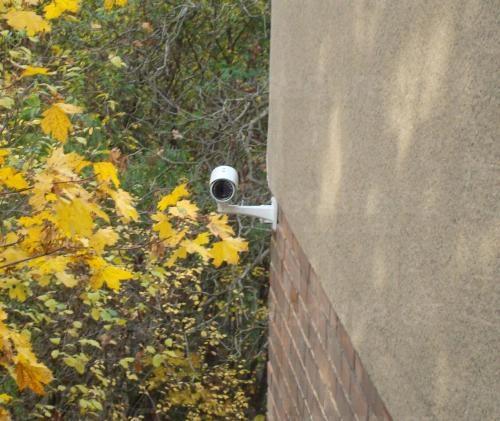 Instalace IP kamery VIVOTEK IP8335H na bytový dům