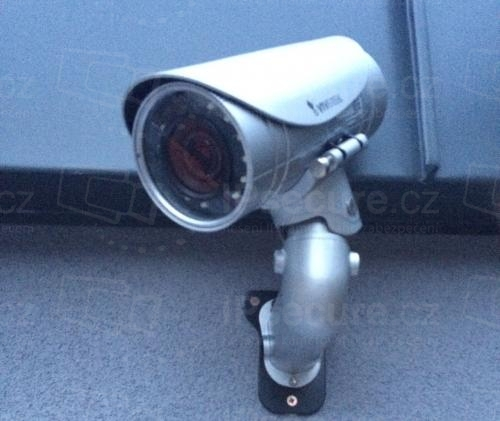 Instalace IP kamery VIVOTEK IP8365EH na průmyslový objekt