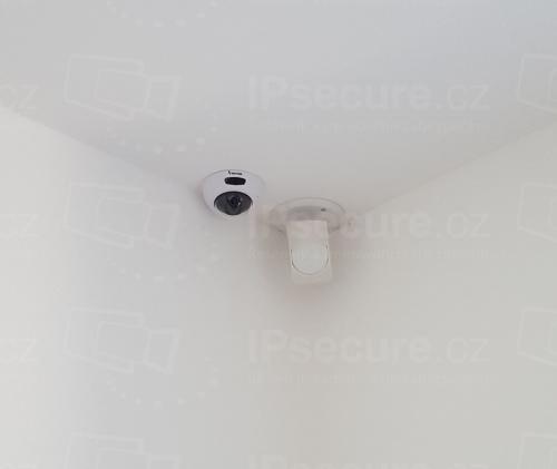 Instalace IP kamery VIVOTEK FD8166A v rodinném domě