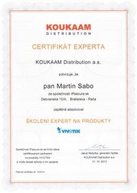 Expert VIVOTEK - Bc. Martin Sabo