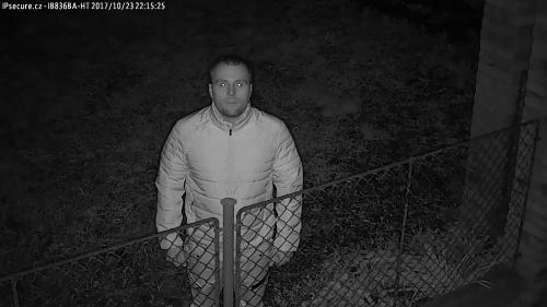 Záběr z testované kamery VIVOTEK IB836BA-HT