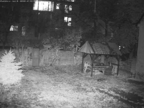 Záběr z testované kamery VIVOTEK CM48I8-4080