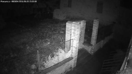 Záběr z testované IP kamery VIVOTEK IB8369A