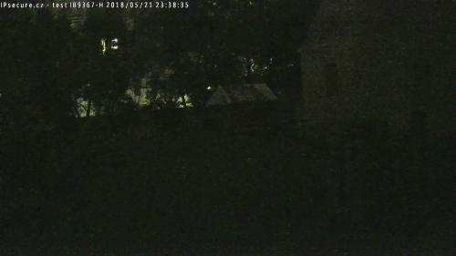 Záběr z testované kamery VIVOTEK IB9367-H