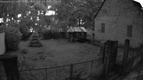 Záběr z testované kamery VIVOTEK IB9367-HT