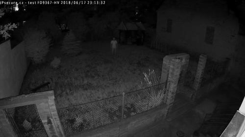 Záběr z testované kamery VIVOTEK FD9367-HV