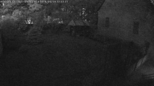 Záběr z testované kamery VIVOTEK FD9367-HTV