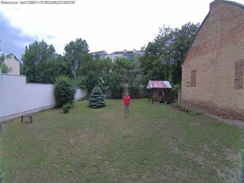 Záběr z testované kamery VIVOTEK CC8371-HV
