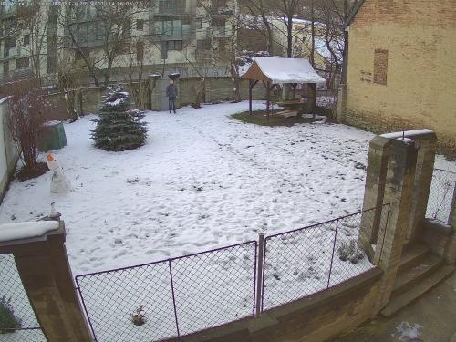 Záběr z testované kamery VIVOTEK IB9387-H
