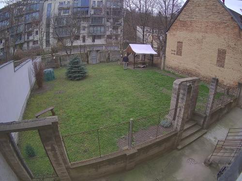 Záběr z testované kamery VIVOTEK FD9387-HV