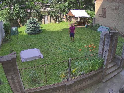 Záběr z testované kamery VIVOTEK IB9389-H