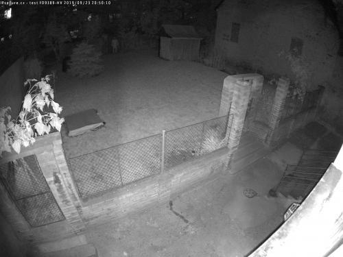 Záběr z testované kamery VIVOTEK FD9389-HV