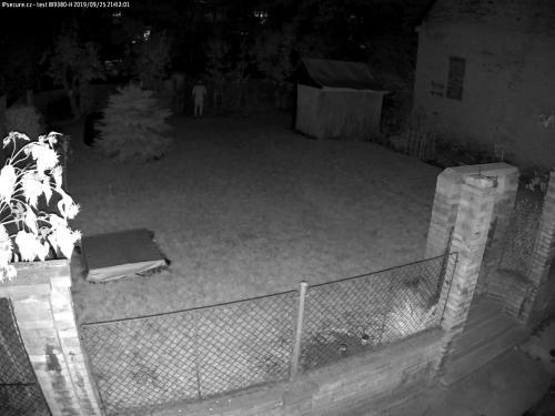 Záběr z testované kamery VIVOTEK IB9380-H