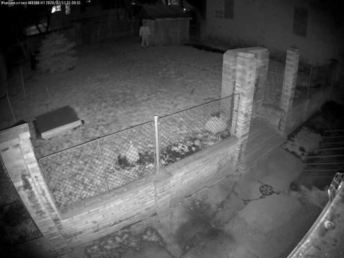 Záběr z testované kamery VIVOTEK IB9388-HT
