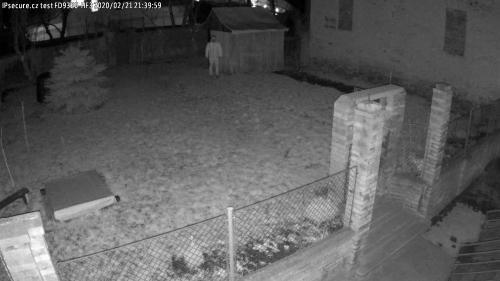 Záběr z testované kamery VIVOTEK FD9360-HF3
