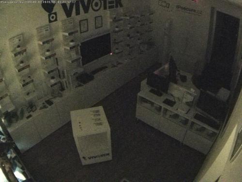Záběr z testované kamery VIVOTEK FD9189-HT