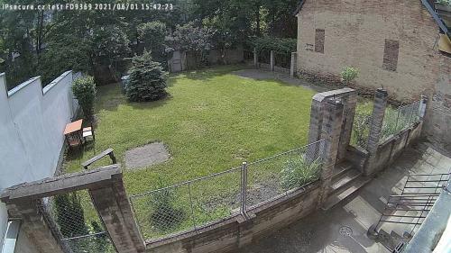 Záběr z testované kamery VIVOTEK FD9369