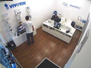 Záběr IP kamery VIVOTEK MD7560