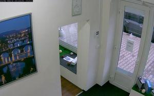 VIVOTEK PD8136 - maximální otočení vlevo