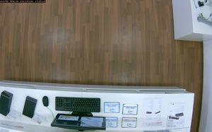 VIVOTEK PD8136 - maximální náklon směrem dolu