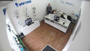 Záběr IP kamery VIVOTEK MD8562