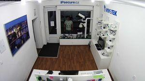 Záběr IP kamery VIVOTEK FD8163