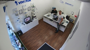 Záběr IP kamery VIVOTEK FD8166 F2W