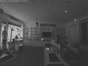 Záběr IP kamery VIVOTEK CC8370-HV